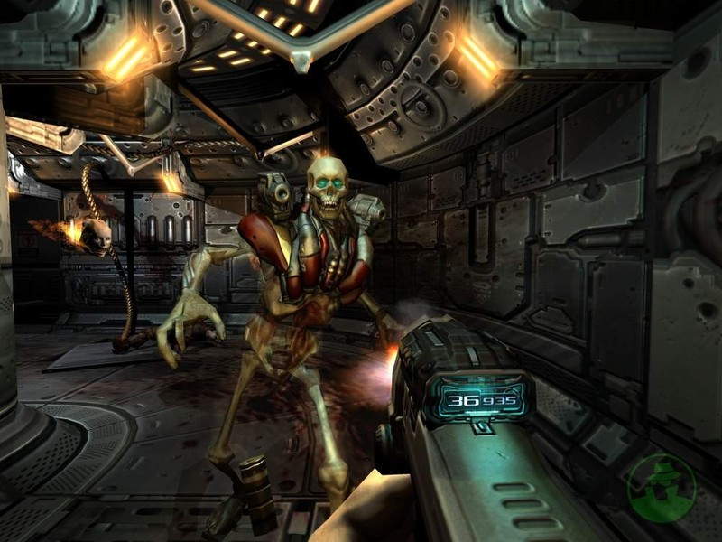 Doom 3 - PC Game Shot