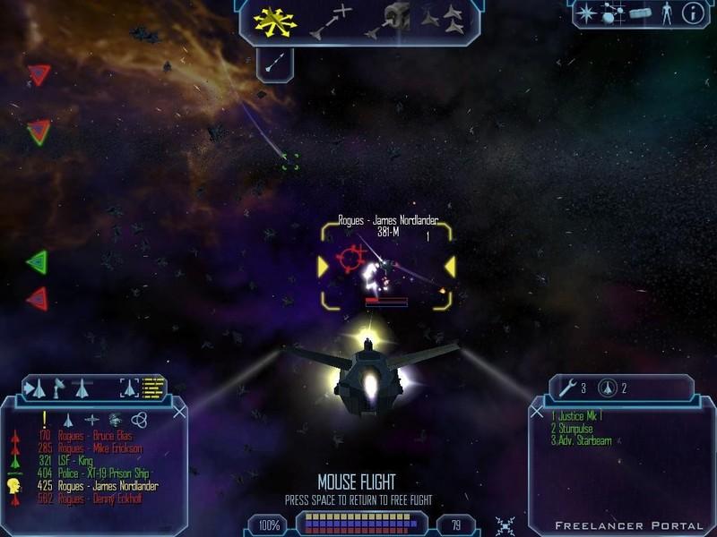 Freelancer - PC Game Shot